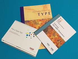 Tamsin Regnes - Resources used for MBTI feedback