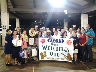 Kauai Airport Reception