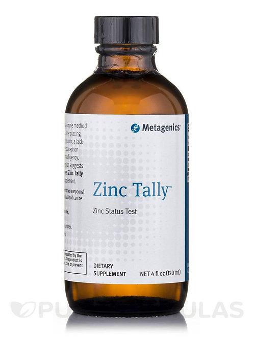 Zinc Tally