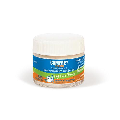 Comfrey Herbal Cream 20g Jar