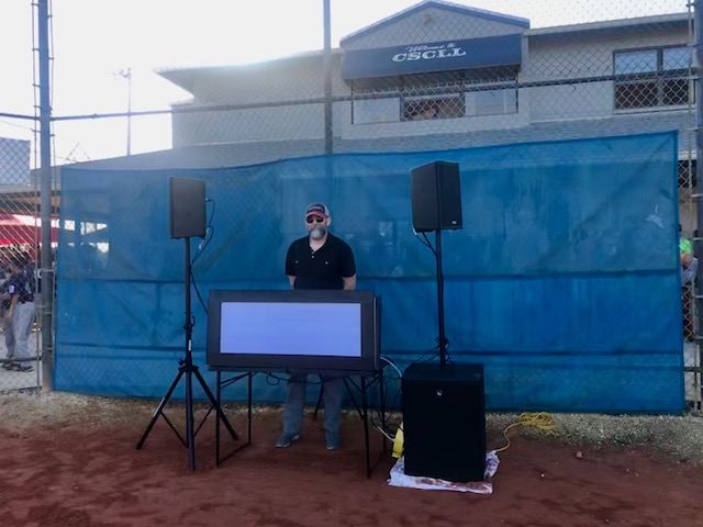 Sarasota DJ for Little League Event