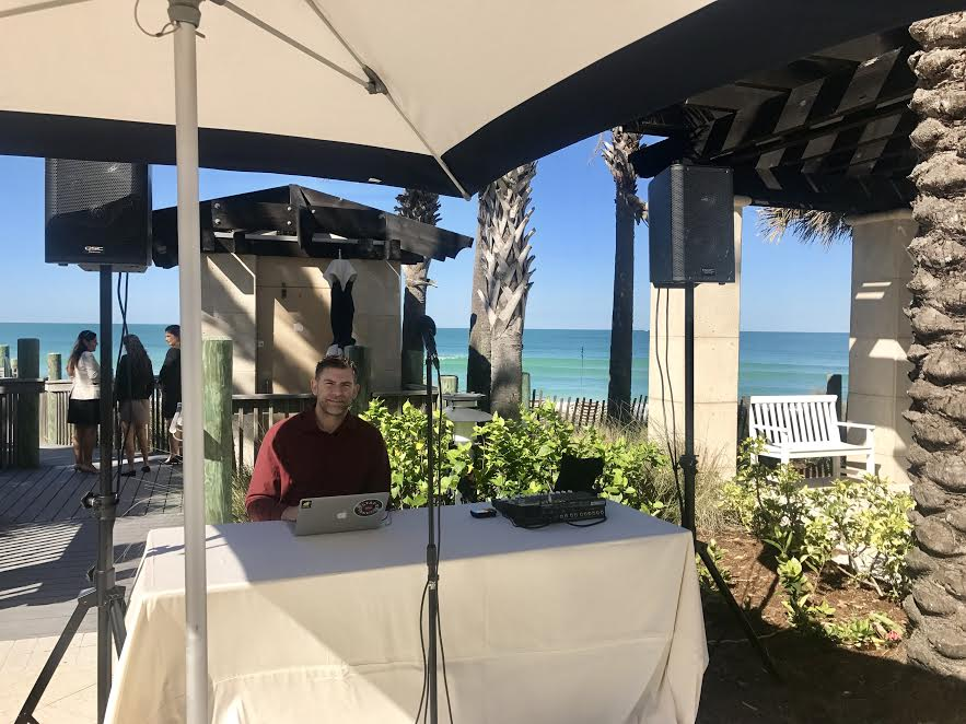 Ritz Sarasota Beach Wedding DJ