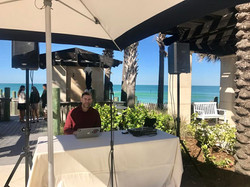 Ritz Sarasota Beach Wedding DJ