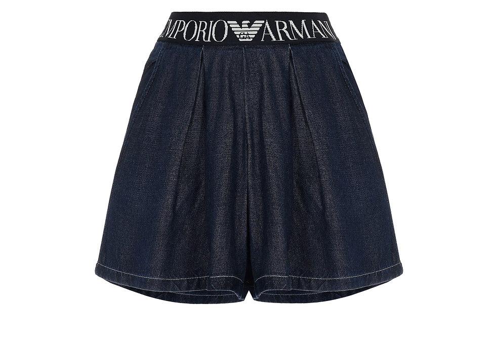 Джинсовые шорты Emporio Armani