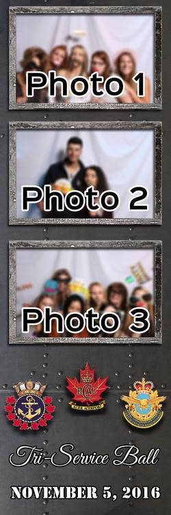 Metal 2x6 3 photo template