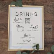 bar signage illustrated
