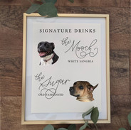 signature drinks dogs