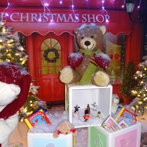 Fun and festive animated displays