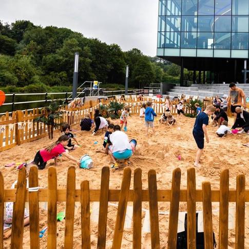 Life's a beach Shopping centre summer events