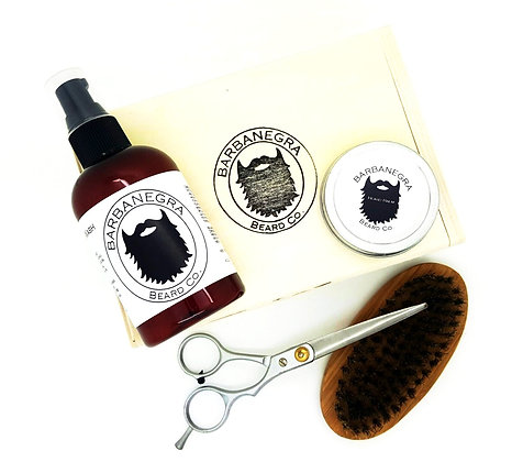COMPLETE BEARD KIT - CHOOSE SCENT
