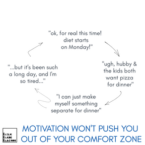 Motivation is fleeting and habits die hard. What is a busy mom to do?