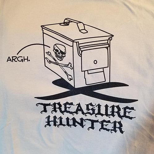 Treasure Hunter, Tan T-Shirt, Youth