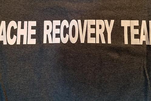 Cache Recovery Team, Dark Heather Grey T-shirt