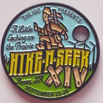 2017 Hike and Seek Pathtag with Lanyard