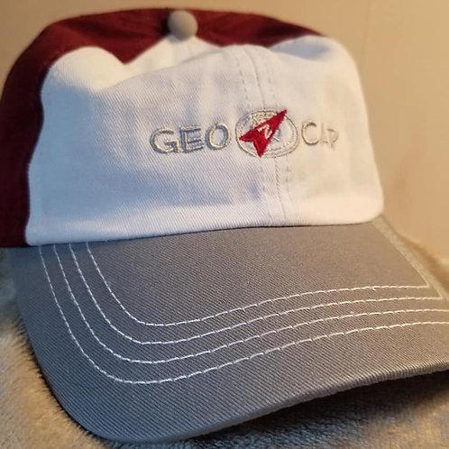 Tri Color Geo Baseball Cap