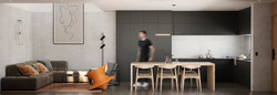 Interior vivienda tipo Otay
