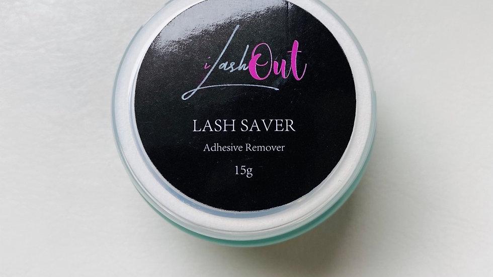 LASH SAVER adhesive remover