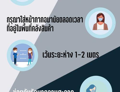 รณรงค์คนไทยปลอดเชื้อโควิด