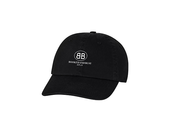 APLA Booked and Busy Dad Hat in Black