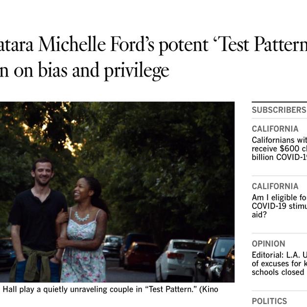 LA Times Review