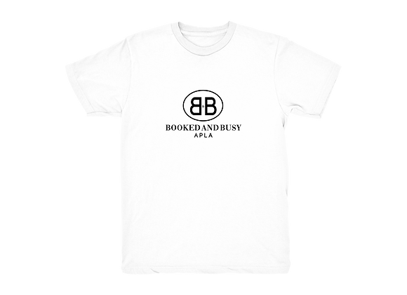 APLA Booked and Busy Tee in White