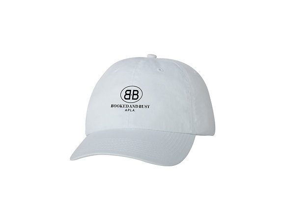APLA Booked and Busy Dad Hat in White
