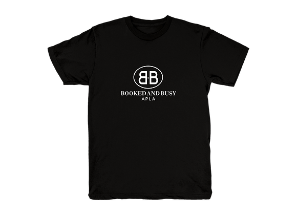 APLA Booked and Busy Tee in Black