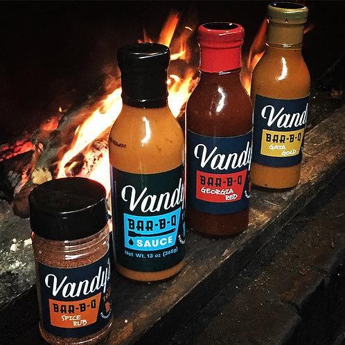 Vandy's GATA Gold BBQ Sauce