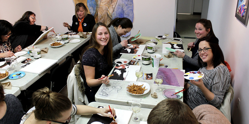 Pinot and Paint | Vernon Winter Carnival