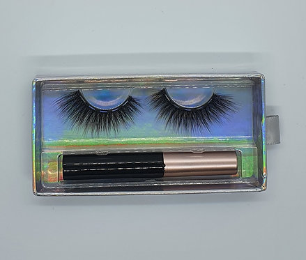 """#SHAUNA """"Luxury 3D Faux Mink Bandless """" (Magnetic Liner Inc)"""