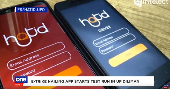 E-trike hailing app starts test run in U.P. Diliman
