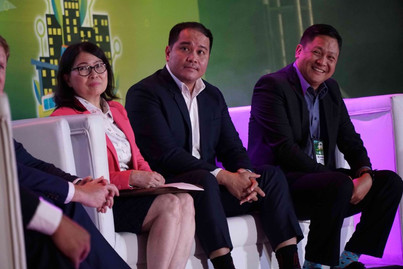 """EVAP President Edmund Araga said that the EV industry locally has become mainstream.  """"Infrastructure and government support to sustain the growth of the EV industry are now being set up. The 3,000 Bemac eTrikes of the Department of Energy (DOE) now being deployed nationwide are becoming more visible in various LGUs,"""" he said."""