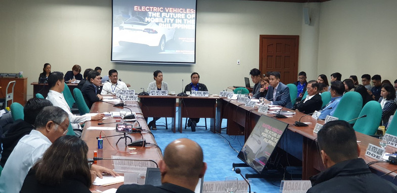 "eVAP Participates in the Senate Public Hearing :Senate Bill no.174"" an Act Providing then National Energy Policy and the regulatory framwork for the use of EV and establishing charging stations.#GOEV"