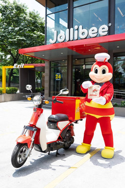 May E-Bike Delivery na sa Jollibee! In partnership with ECOS Environmental Foundation, Inc and together with the Department of Transportation