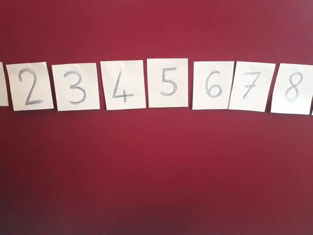 Jeu de kim : quel est le chiffre caché?