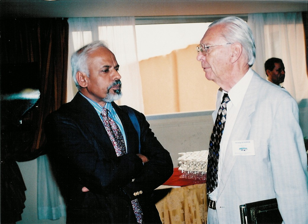 Herwig Schopper and K.R. Sreenivasan