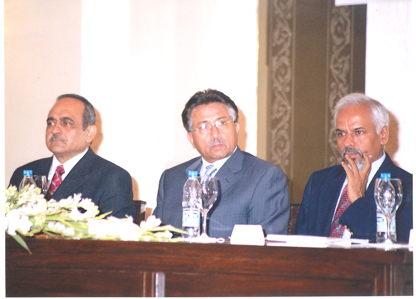 Parvez Butt, Chairman of the Pakistan Atomic Energy Commission - Pervez Musharraf, Pakistan's Presid