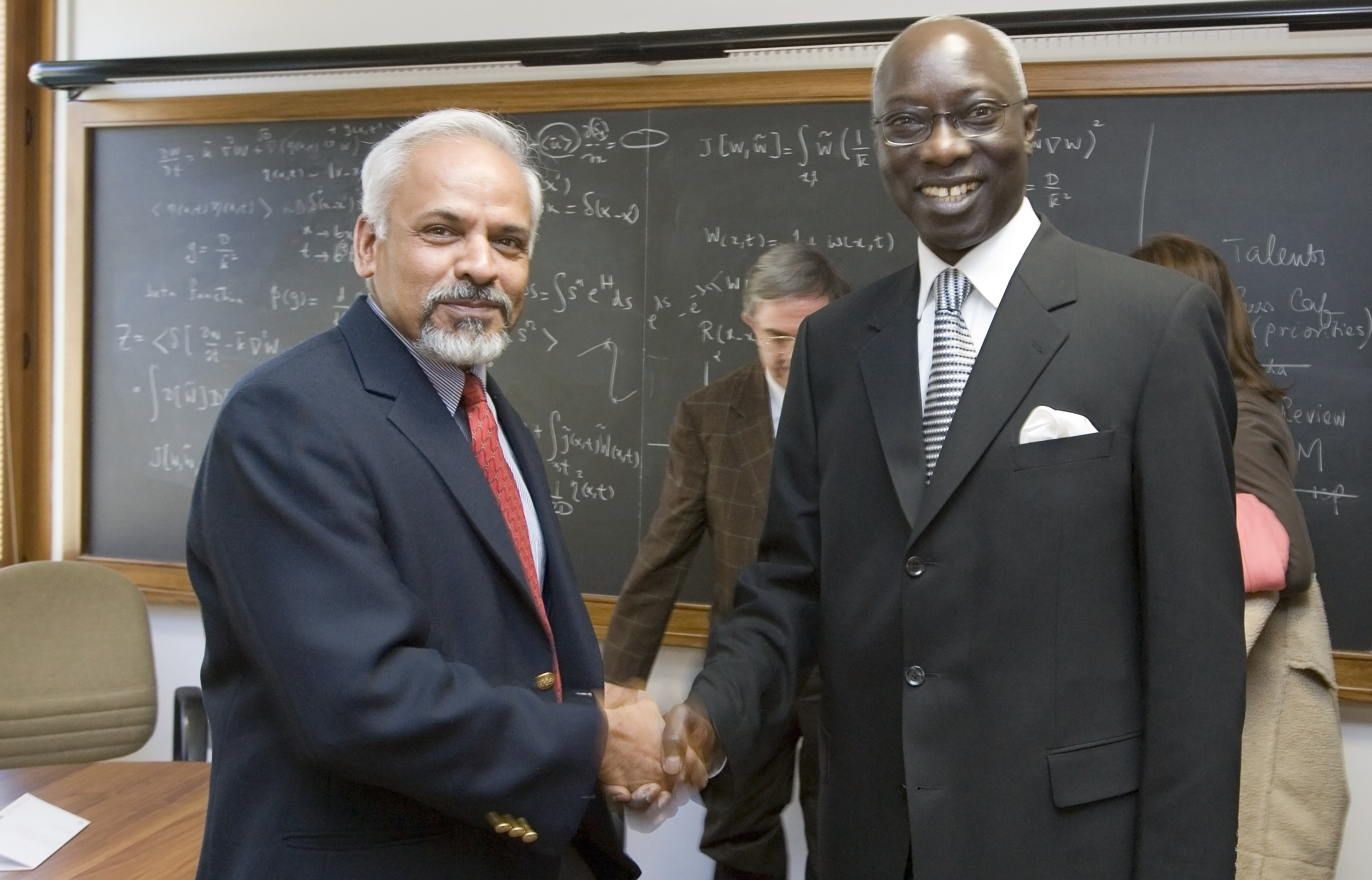 K.R. Sreenivasan and A. Dieng