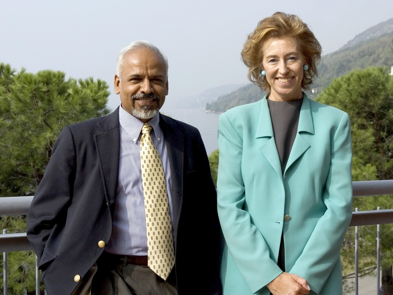 Katepalli R. Sreenivasan and Letizia Moratti