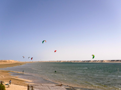 Kite Surfing in Dakhla