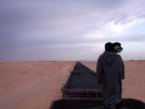Riding the Iron Ore Train in Mauritania – The Longest Train In The World