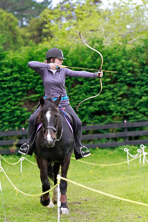 Auckland NZ Horse Archery Clinic Spring 2021