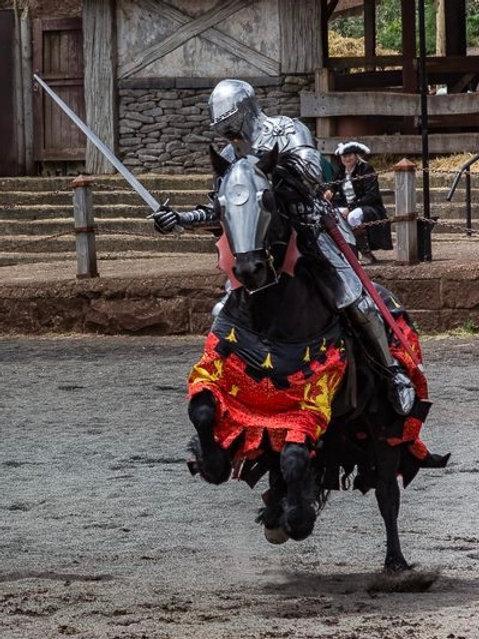 Historic Equitation Combat School - Kryal Castle (Ballarat Vic)