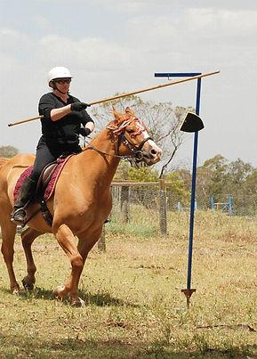 Horse Archey, Mounted Archery, Horseback Archery, Horse Archer, Mounted Archer, Medieval Horse Sports Australia, hanging shields, jousting,