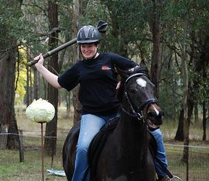 Horse Archey, Mounted Archery, Horseback Archery, Horse Archer, Mounted Archer, Medieval Horse Sports Australia, sword,