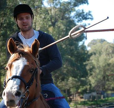 Horse Archey, Mounted Archery, Horseback Archery, Horse Archer, Mounted Archer, Medieval Horse Sports Australia, rings, jousting, hanging rings,