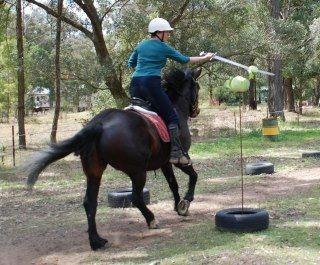 Horse Archey, Mounted Archery, Horseback Archery, Horse Archer, Mounted Archer, Medieval Horse Sports Australia, Sword