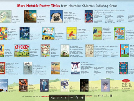 MACKIDS National Poetry Month Poster