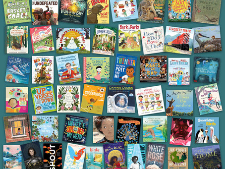 An Amazing list of books for 2019 from the POETRY for CHILDREN Blog! (ALL OF ME is on there!!!)