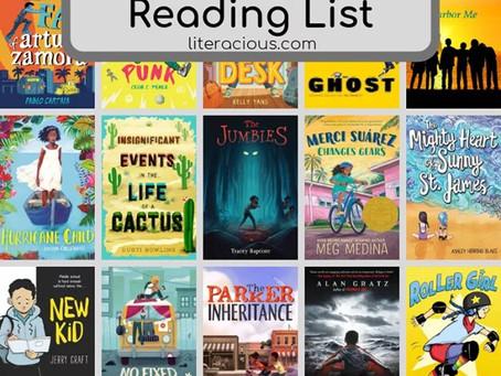 6-8th Grade Reading List
